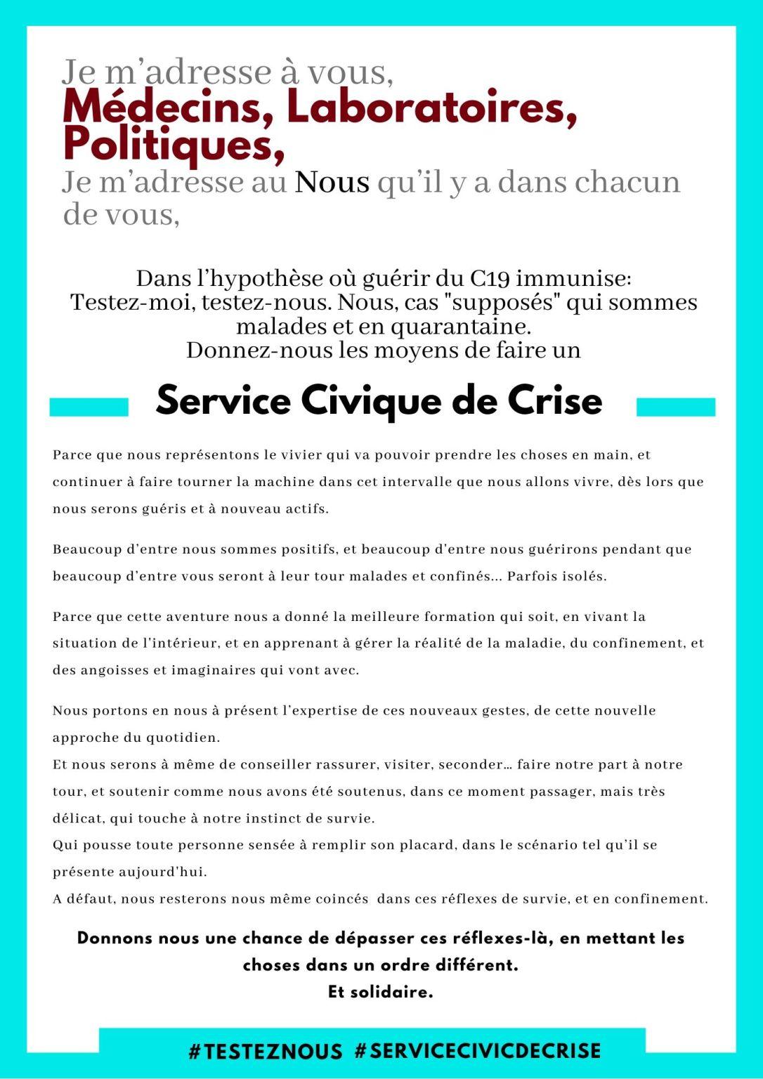 Service Civique de Crise
